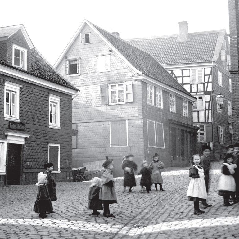 Geburtshaus Wilhelm Conrad Röntgens in Lennep.