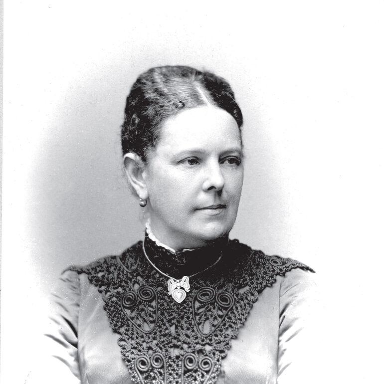 Wilhelm Conrad Röntgens Frau Bertha.