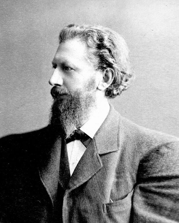 August Kundt, Professor der Physik in Zürich und Mentor Röntgens.