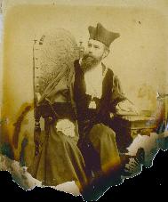 Foto:Röntgen als Rektor (c) Universitätsarchiv, Nachlass W.C.Röntgen